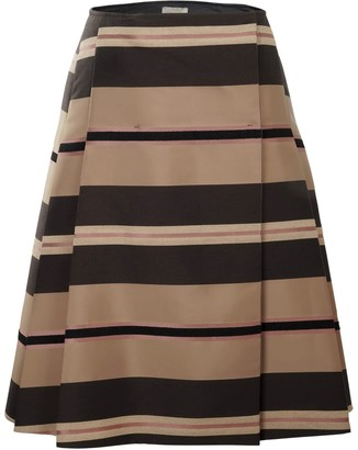 Nemozena Reversible A-Line Side Pleated Skirt