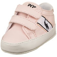 Ralph Lauren Baby Girl's Quigley Grip-Tape Sneakers