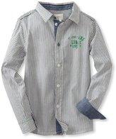 Diesel Boys 2-7 Caixi Stripe Woven Shirt