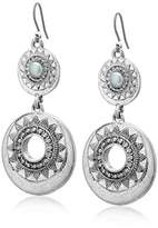 Lucky Brand Pearl Bali Statement Earrings