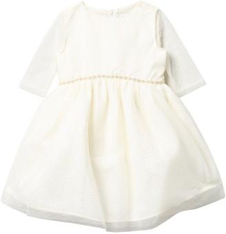 Blush by Us Angels Glitter Embellished Dress (Toddler & Little Girls)