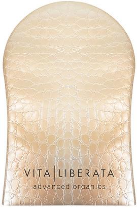 Vita Liberata Tanning Mitt Mock Croc Effect with Brown Flock