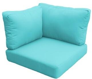 tk.TAKEO KIKUCHI Classics Indoor/Outdoor Cushion Cover Classics Fabric: Aruba