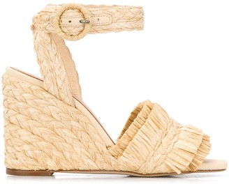 Paloma Barceló Marion 95mm wedge sandals