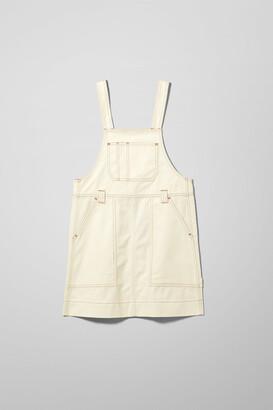 Weekday Grow Workwear Dress - White