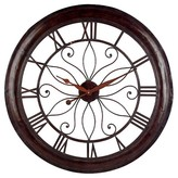 "Aurora Traditional Decorative Clock (3.0 X 31.0 X 30.75"")"