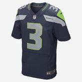 Nike NFL Seattle Seahawks Elite Jersey (Russell Wilson) Men's Football Jersey