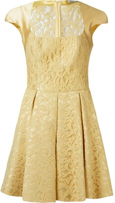 Martha Medeiros 'marescot' Lace Flared Dress