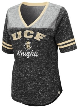 Colosseum Women's University of Central Florida Knights Mr Big V-neck T-Shirt