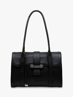 Radley Devonport Mews Leather Flap Over Shoulder Bag