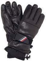 Moncler Leather ski gloves