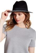 David & Young Boucle Brim Panama Hat