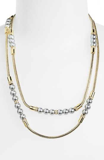 Givenchy Extra Long Station Necklace