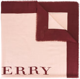 Burberry bicolour scarf - women - Silk/Cashmere/Wool - One Size