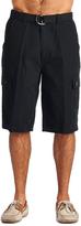 OTB Black Belted Cargo Shorts