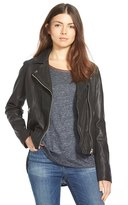 Madewell Women's Washed Leather Moto Jacket