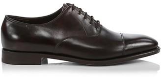 John Lobb City II Leather Oxford Loafers
