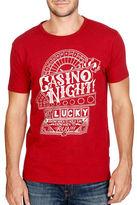 Lucky Brand Casino Night Tee