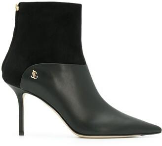 Jimmy Choo Beyla 85 pointed toe boots