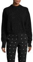 Tibi Wool Crewneck Sweater