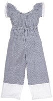Toddler Girl's Masalababy Nusa Seersucker Stripe Jumpsuit