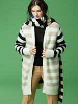 Diane von Furstenberg Knit Wrap Scarf