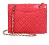 Tory Burch Fleming Medium Quilted Leather Shoulder Bag