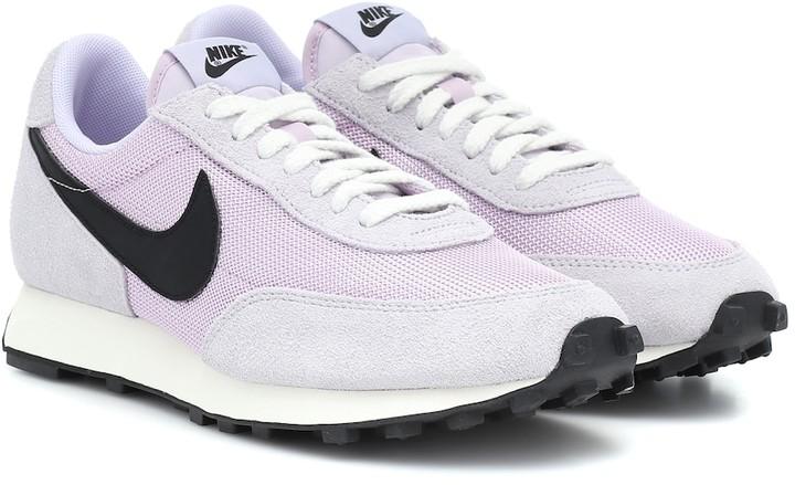 Nike Daybreak SP suede-trimmed sneakers