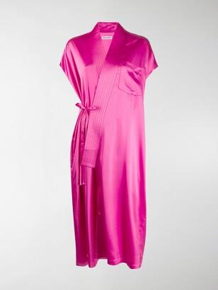 Balenciaga Sleeveless Judo Dress