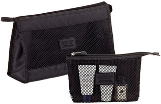 Container Store Black Accessory Pouches