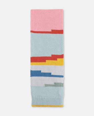 Stella McCartney Kids stripes knit scarf