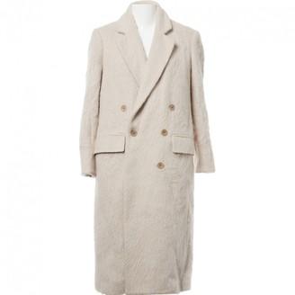 BLK DNM Ecru Wool Coats