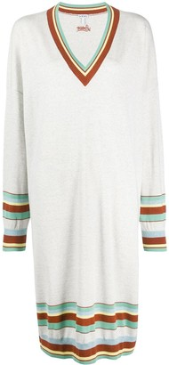 Loewe Striped Detail Jumper Dress
