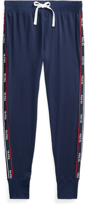 Ralph Lauren Logo-Tape Cotton Jersey Joggers