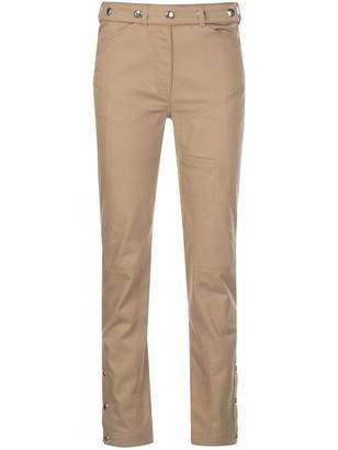 Thierry Mugler Stud-Embellished Slim Pants