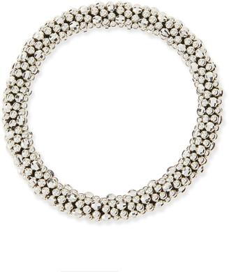 Meredith Frederick Irina Silver Mirrored Bead Bracelet