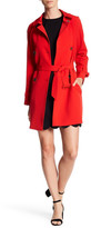 Vince Camuto Belted Double Breasted Trench Coat