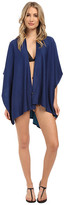 Echo Solid Reversible Ruana Cover-Up