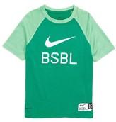 Nike Boy's Bsbl Dri-Fit T-Shirt