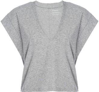 Frame Le High Rise V-Neck T-Shirt