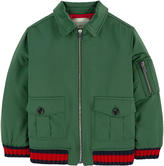 Gucci Bomber jacket with embroideries