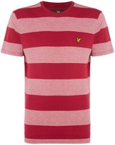 Lyle And Scott Wide-stripe Crew-neck Cotton T-shirt