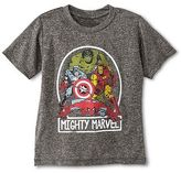 DC Comics Marvel Toddler Boys' Avengers Activewear Tee - Gray