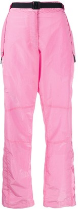 MSGM Technical Fabric Cargo Trousers