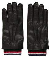 Thom Browne 2016 Cashmere-Lined Leather Gloves
