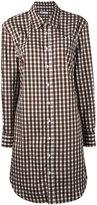 Dondup gingham tunic shirt - women - Cotton - 42