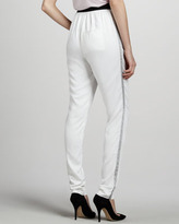L'Agence Relaxed Tuxedo Pants
