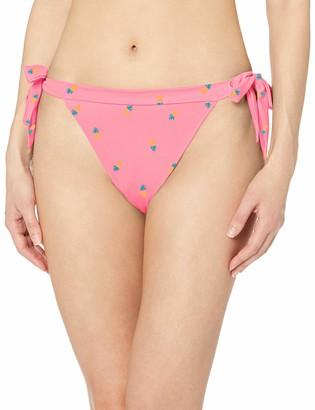 Amazon Essentials Women's Standard Side Tie Bikini Bottom