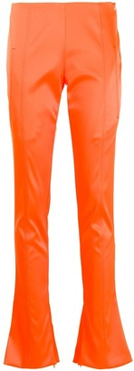 Off-White Skinny-Fit Flared Trousers