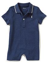 Ralph Lauren Baby Boys 3-12 Months Short-Sleeve Polo Shortall